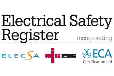 North East Electrics Electrical Safety Register Certificate