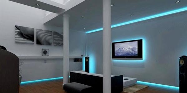 L.E.D Lighting installation and design in Gateshead