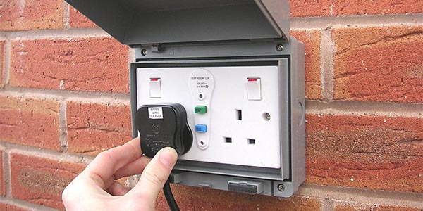 Outside Socket installation in Gateshead
