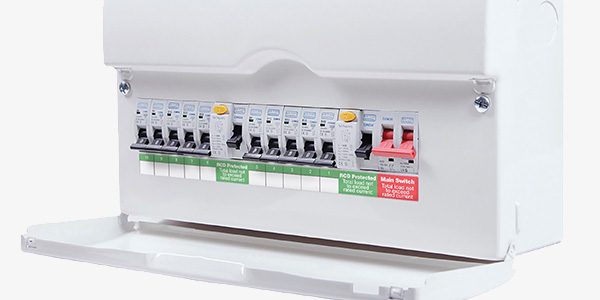 Fuse box replacement electrical services in Gateshead